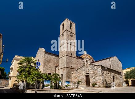 Chiesa di San Paolo, église du XVIIIe siècle à Olbia, région de Gallura, province de Sassari, Sardaigne, Italie