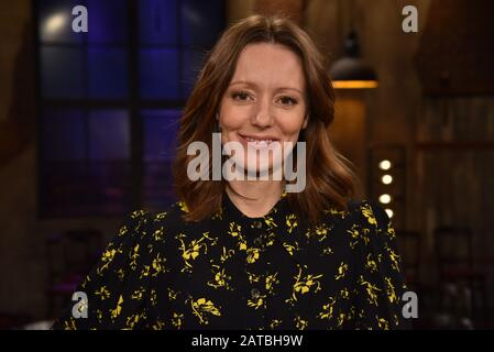Cologne, Allemagne. 31 janvier 2020. Lavinia Wilson, actrice, invitée du salon WDR 'Kölner Treff'. Crédit: Horst Galuschka/Dpa/Alay Live News Banque D'Images