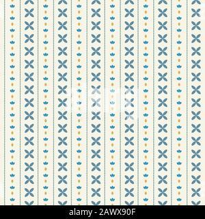 motif sans couture avec éléments en points. décoration de la maison couleur bleue. motif d'arrière-plan pour le papier peint. magnifique motif en tissu Banque D'Images