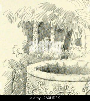 Architecture byzantine et romane . Cloître: S. GIOVANNI LATERANO-ROME plate XLiri. I i iiv ii^^- <^^-%S r- ?sg Civ**. 7 9//. S. GIOVANNI LAIKRANO —ROME CH. XIII] ROME 189 dans le style qu'elle doit avoir été apportée de Constanti- s. Gio-nople ou à tous les événements de l'Exarcat (plate XLIII). LateranoLe temple du Latran, construit par Constantin pour être Omnium urbis et orbis Ecclesiarum mater et caput, a longtemps disparu, et après avoir été ruiné et ré-construit quatre fois avant 1362, il a été transformé en un churchby classique Eugenius IV et a été modifié par presque tous les succès du Pape jusqu'à ce qu'il Banque D'Images