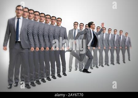 Se démarquer de la notion d'affaires avec Banque D'Images