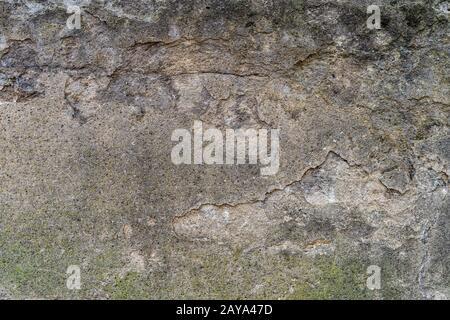 Béton vieilli avec motifs et fissures. Texture et arrière-plan de haute qualité