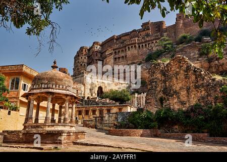 Fort Mehrangarh, Jodhpur, Rajasthan, India