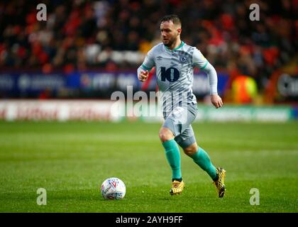 Charlton, Royaume-Uni. 15 février 2020. Charlton ANGLETERRE - 15 FÉVRIER : Adam Armstrong de Blackburn Rovers lors du match de championnat entre Charlton Athletic et Blackburn Rovers au stade Valley le 15 février 2020 à Charlton, Angleterre crédit: Action Foto Sport/Alay Live News Banque D'Images