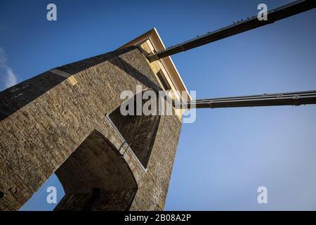 Pont Suspendu De Clifton Royaume D'Isambard Brunel Bristol
