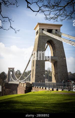 Isambard Kingdom Brunel Clifton Suspension Bridge Bristol Royaume-Uni