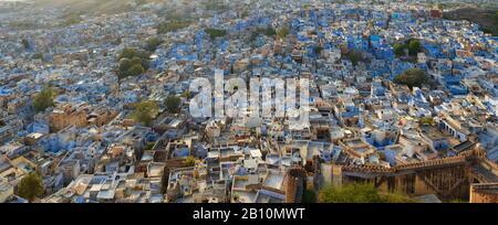 La ville bleue, Jodhpur, Rajasthan, Inde