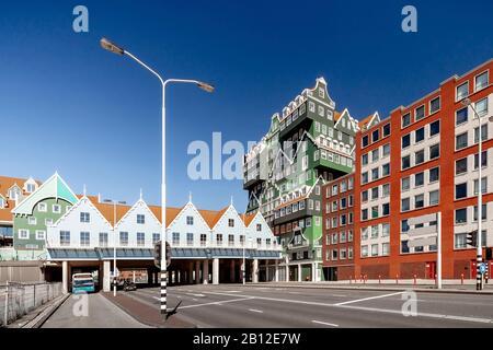 Hôtel avec une architecture exceptionnelle à Zaandam près d'Amsterdam, Pays-Bas