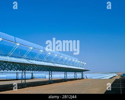 Centrale solaire thermique Andasol 1,Guadix,Espagne,Europe Banque D'Images