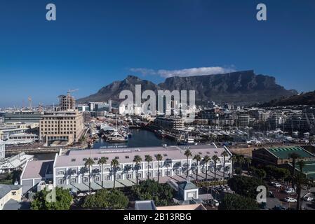 Alfred Mall, Centre Commercial, V & A Waterfront, Cape Town, Western Cape, Afrique Du Sud, Afrique Banque D'Images