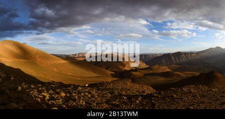 Canyons du Haut Atlas. Maroc