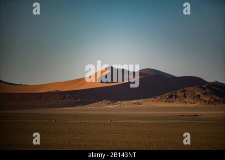 Le plus grand dans le monde, les dunes de Sossusvlei, Namibie, Afrique