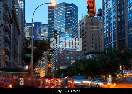 Le MetLife Building, Manhattan, New York City, USA, NEW YORK, United States of America Banque D'Images