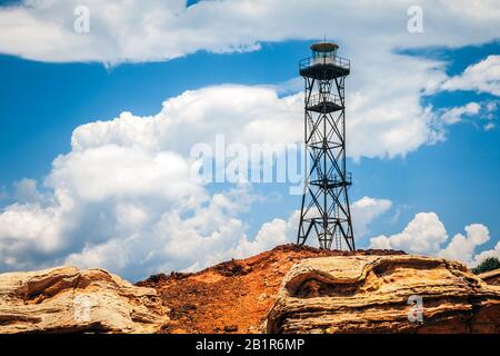 Phare De Broome, Australie, Australie Occidentale, Gantheaume Point Banque D'Images