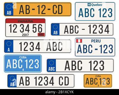 La Plaque D Immatriculation Du Quebec Numero D Immatriculation Du Vehicule Quebec Canada Je Me Souviens Plaque Photo Stock Alamy