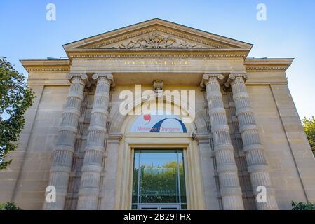 Musée de l'Orangerie (musée de l'Orangerie), galerie d'art de peintures impressionnistes et post-impressionnistes à Paris, France Banque D'Images