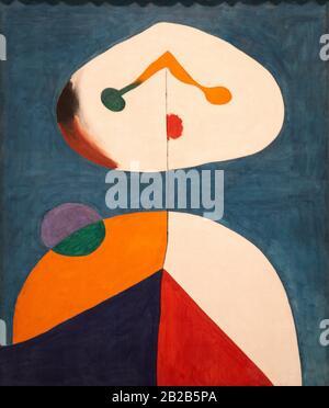 '''Portrait Ii'', 1938, Joan Miró (1893-1983) Banque D'Images