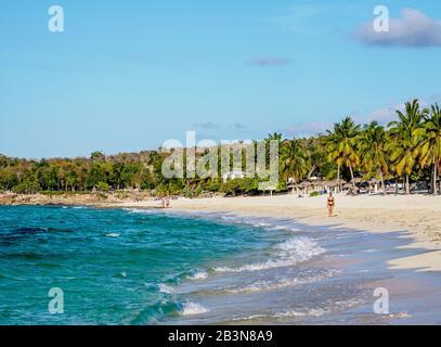 Playa Esmeralda, Province De Holguin, Cuba, Antilles, Amérique Centrale Banque D'Images