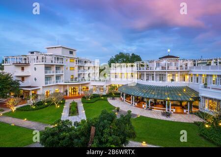 L'Asie du Sud-est, le Vietnam, L'hôtel Azerai la Residence à Hue - une ville historique et un site du patrimoine mondial