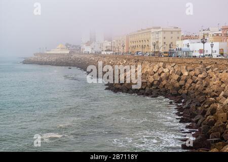 La belle promenade de Cadix