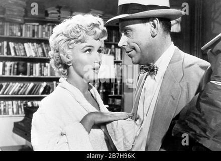 marilyn monroe, tom ewell, le fossé de sept ans, 1955 Banque D'Images