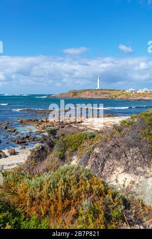 Phare du Cap Leeuwin, près de Augusta, Australie occidentale, Australie Banque D'Images