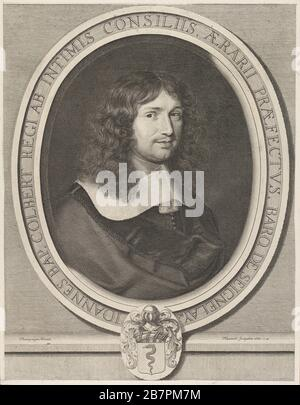 Jean-Baptiste Colbert, 1660. Banque D'Images