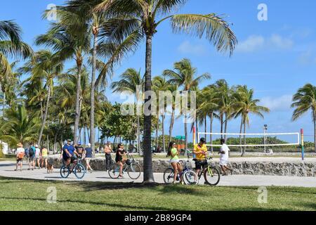 Miami Beach, Floride, États-Unis Banque D'Images