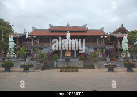 Khai Doan Pagoda King a honoré Pagoda, le relique historique de Buon Ma Thuot, Dak Lak, Vietnam