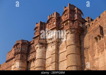 Fort Mehrangarh Jodhpur Rajasthan Inde