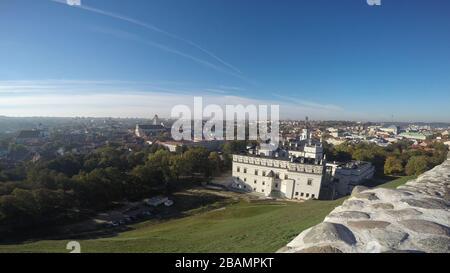 Les gratte-ciel de Vilnius en Lituanie