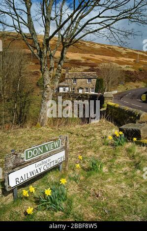 Royaume-Uni, Yorkshire du Sud, Dunford Bridge Banque D'Images