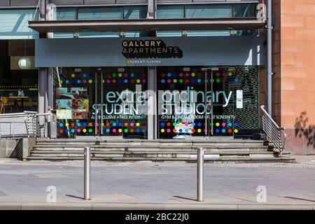 Gallery Apartments Hébergement étudiant, Glasgow, dans le centre-ville, Ecosse, Royaume-Uni