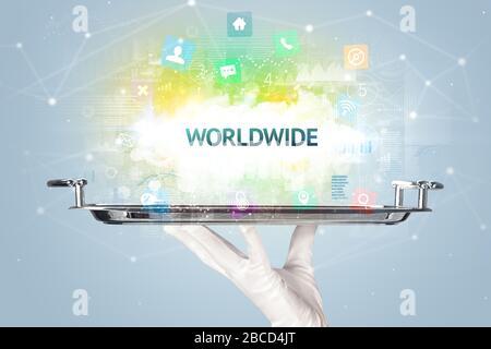 Serveur servant le concept de réseau social avec inscription DANS LE MONDE ENTIER
