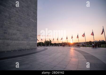 Monument de Washington à Washington DC, États-Unis d'Amérique, États-Unis