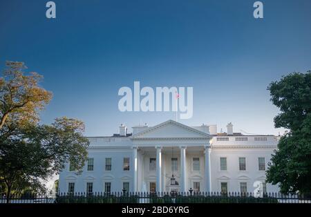Maison Blanche, Washington DC, USA