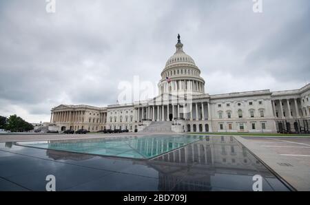Le Capitole des États-Unis à Washington DC, États-Unis d'Amérique