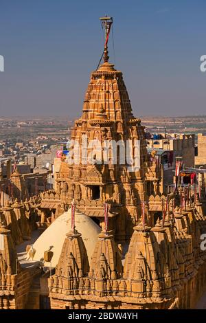 Sri Chandra Prabhu Swami Jain Temple Jaisalmer fort Rajasthan Inde