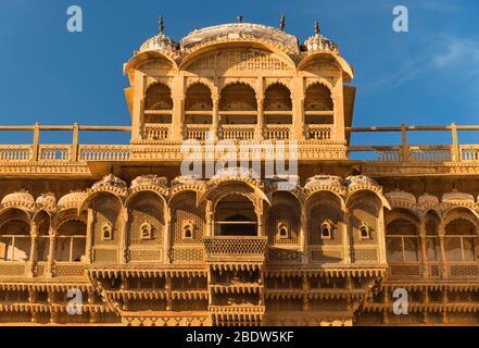 Raja Ka Mahal Palace Jaisalmer fort Rajasthan Inde