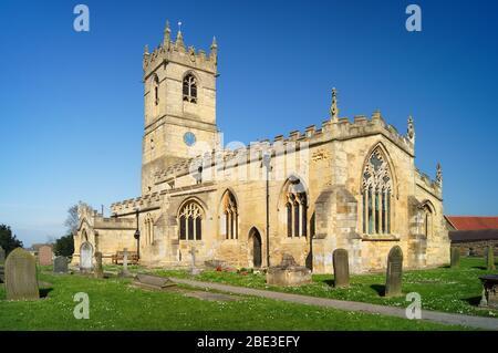 Royaume-Uni, Yorkshire du Sud, Barnburgh, église St Peter