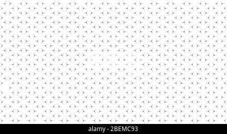 Motif géométrique abstrait avec l'intersection de lignes fines. Illustration vectorielle Banque D'Images