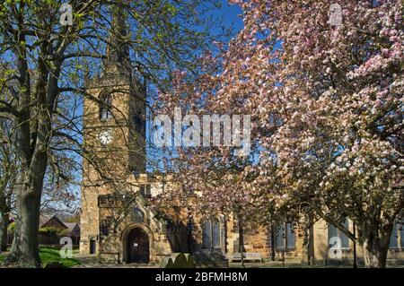 Royaume-Uni, Yorkshire du Sud, Rotherham, WATH on Dearne, Église des Saints