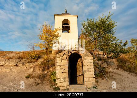 Église Orheii Vechi Rock à Trebujeni. Trebujeni, Rejon Orhei, Pologne. Banque D'Images