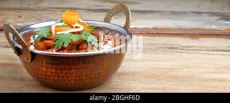Rajma curry ou rajma masala. Curry alimentaire indien.