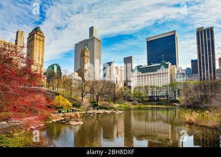 USA, New York, Manhattan, Central Park