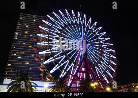 Kobe Port City - Ferris Wheel Banque D'Images