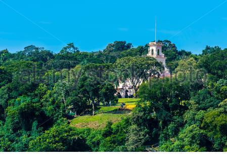 Belmond Hotel das Cataratas, chutes d'Iguazu, Brésil. Banque D'Images