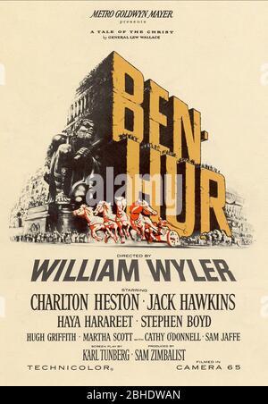 Affiche de film, BEN-Hur, 1959