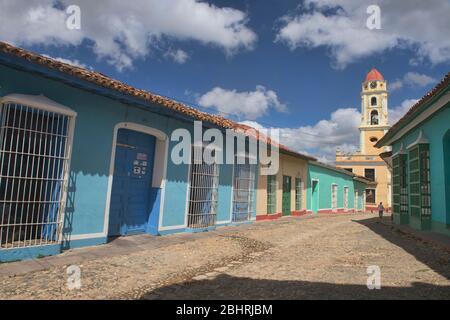 Tour du couvent et de l'église Saint François d'Assise au patrimoine mondial de l'UNESCO Trinidad, Cuba