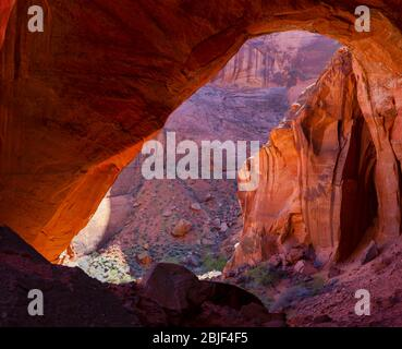 Images d'un voyage de randonnée à travers Buckskin Gulch/Paria Canyon, Vermilion Cliffs National Monument, Utah et Arizona.